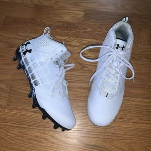 NEW Under Armour Banshee Ripshot Lacrosse Cleats